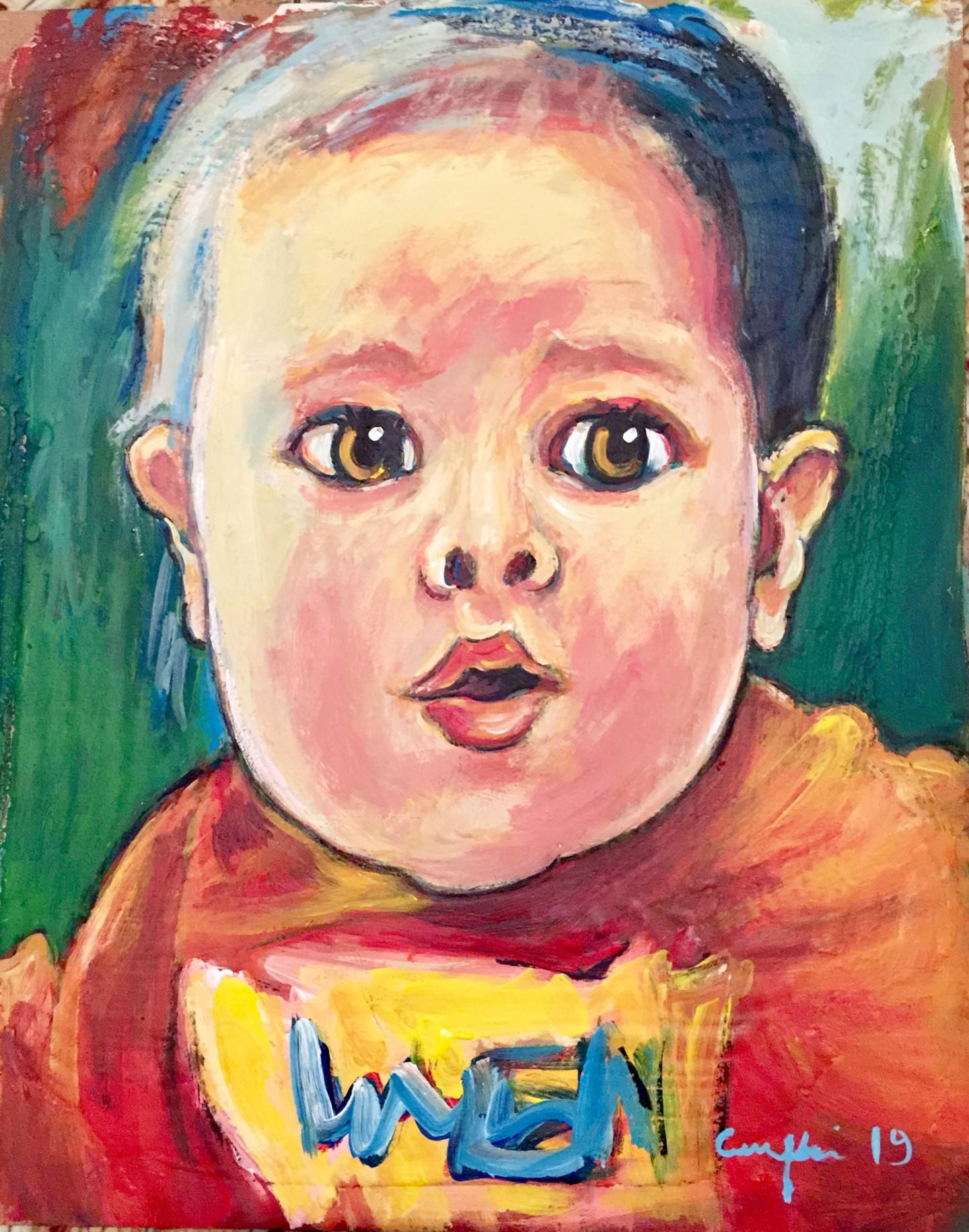 Primo Canepari - bambina