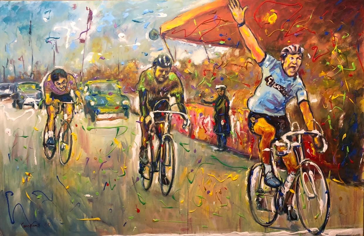 Primo Canepari - Zandegu'vince il Fiandre 1963