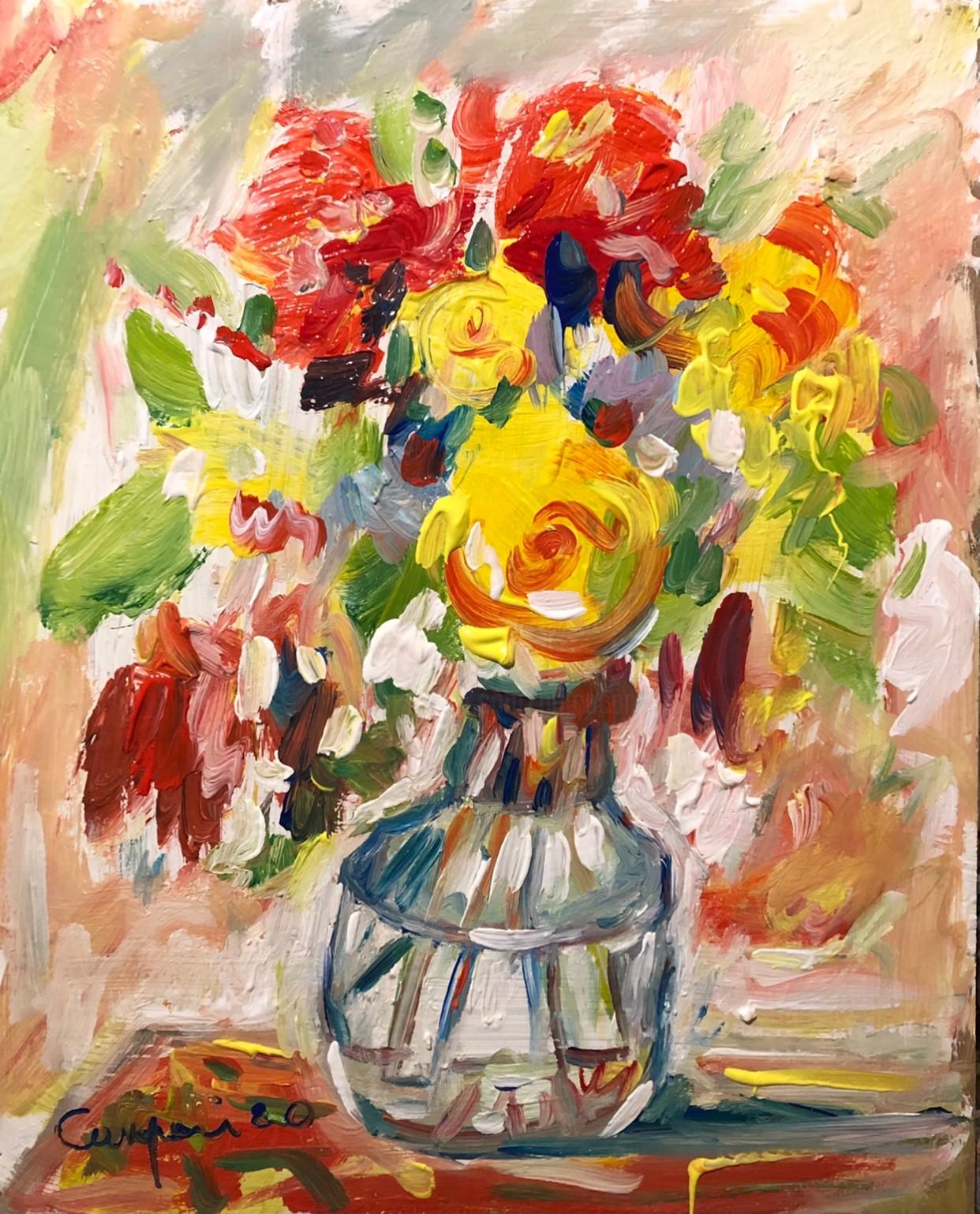 Primo Canepari - Vaso con fiori